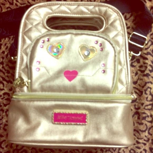 Betsey Johnson Handbags - Betsey Johnson Insulated Lunch Tote